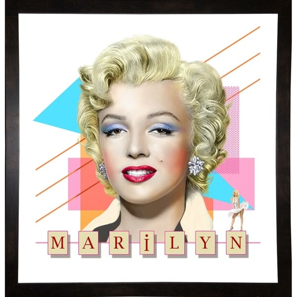 """Marilyn Print 25""""x24"""" by Terry Pastor -TERPAS272147"""