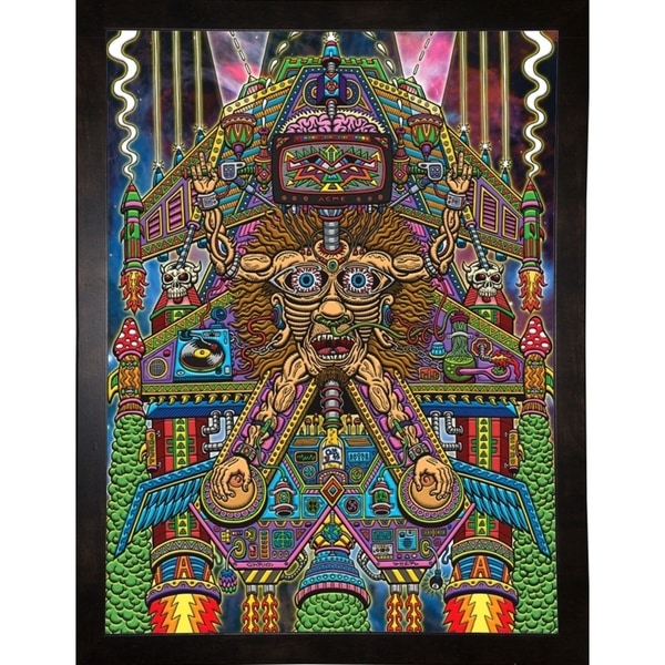 "Sedated Slave Ship Print 30""x22.5"" by Chris Dyer -CHRDYE271808"
