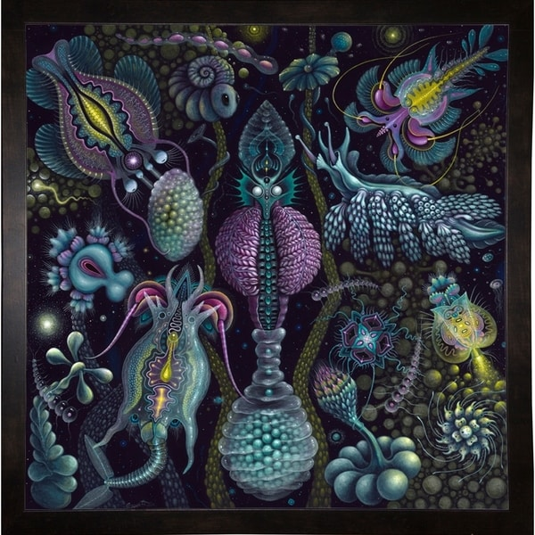 """Microverse 2 Print 30.25""""x30"""" by Robert Connett -ROBCON272091"""