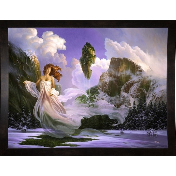 """Untouched Gardens Print 18""""x24"""" by Christophe Vacher -CHRVAC271861"""