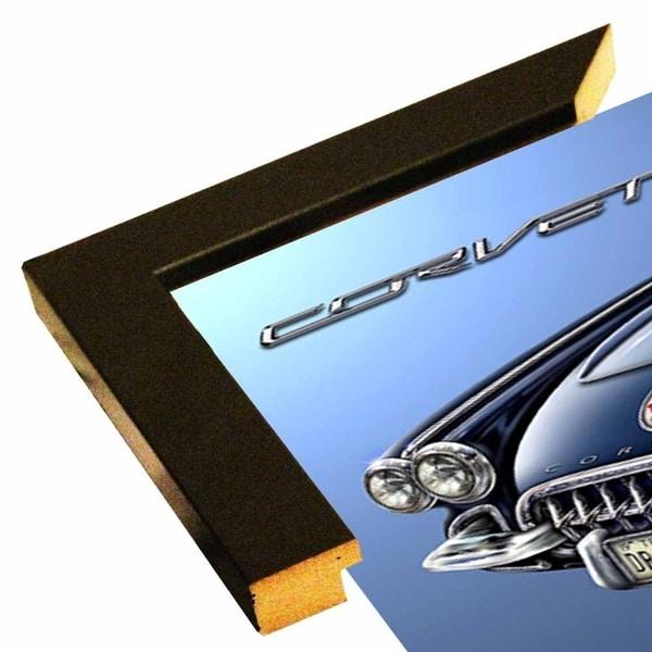 "58 Corvette Print 5.5""x11"" by Michael Fishel -MICFIS271933"