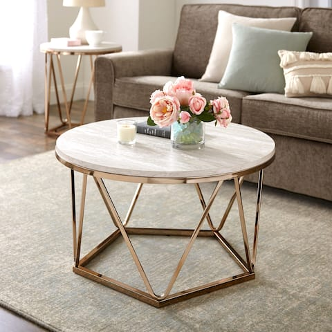 Tremendous Buy Round Coffee Tables Online At Overstock Our Best Home Interior And Landscaping Elinuenasavecom