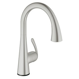 Grohe Ladylux Touch Touch Single-Handle Kitchen Faucet SuperSteel InfinityFinish