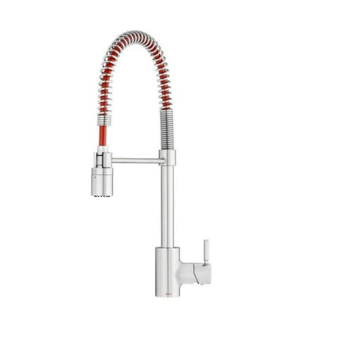 Gerber The Foodie® Pre-Rinse Kitchen Faucet Chrome/Red