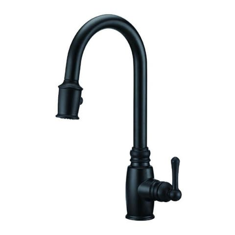Danze Opulence® Single Handle Pull-Down Kitchen Faucet Satin Black