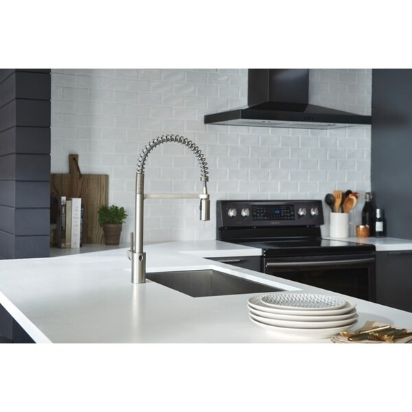 Wave Kitchen Products.Shop Moen Align Motionsense Wave Pulldown Kitchen Faucet