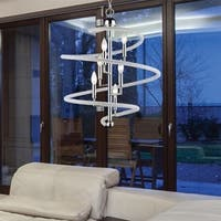 Avery Home Lighting Czarina  Chrome  6 Light Pendant