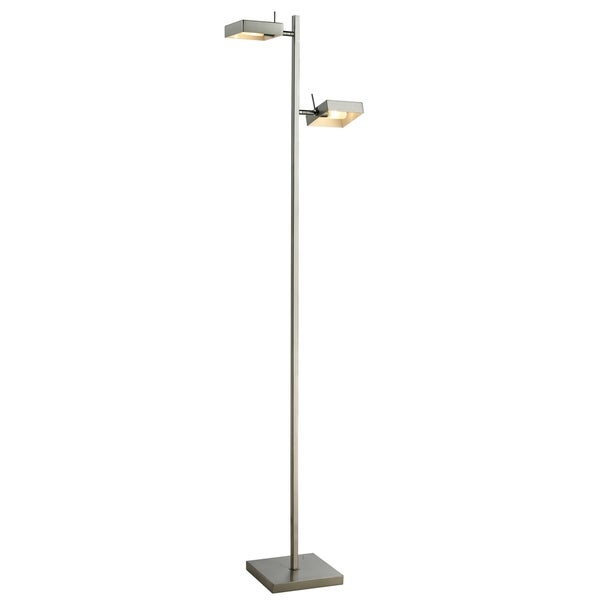 Avery Home Lighting Minimalist 2 Light Metal Floor Lamp Free Shipping Today 24147044