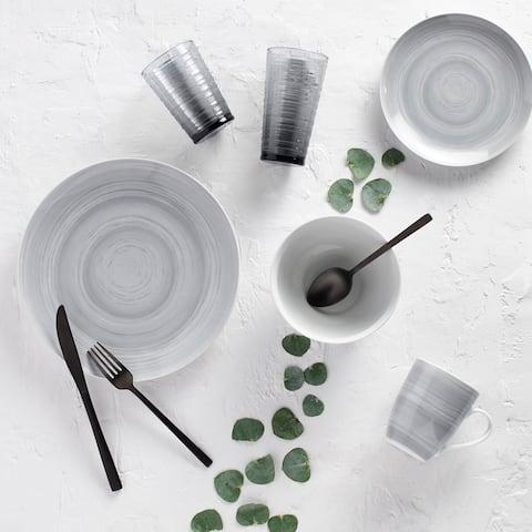 Dinnerset 16Pcs Prc Grey Stone