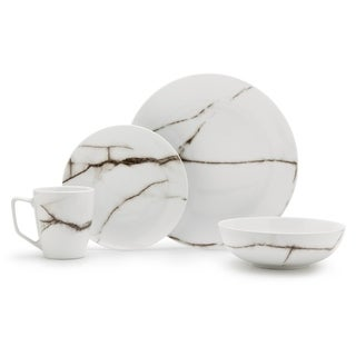 Link to Dinnerset 16-Piece Marble Porcelain Dinnerware Set Similar Items in Dinnerware