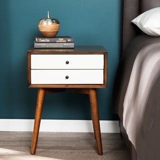Carson Carrington Jelgava Bedside Table w/ Drawers