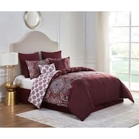 VCNY Home Miranda Reversible Damask Comforter Set