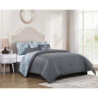 VCNY Home Irene Reversible Medallion Comforter Set