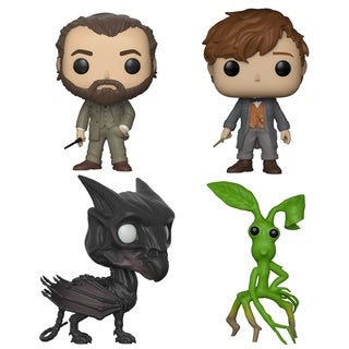 Funko POP! Movies Fantastic Beasts 2 Collectors Set - Dumbledore, Newt w/chase, Thestral, Picket