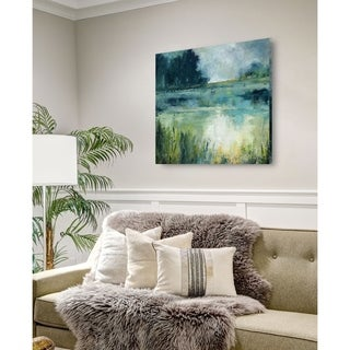 Reflections Edge -Gallery Wrapped Canvas