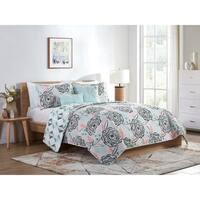 VCNY Home Shayla Reversible Floral Comforter Set - Multi