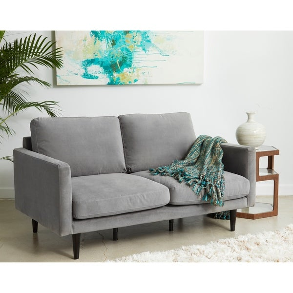 Shop Carson Carrington Hattarvik Mid Century Modern Grey