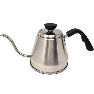 Goose neck Kettle Premium Stainless Steel Coffee Tea Maker Barista Quality 1.2 L