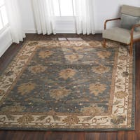 Nourison India House Charcoal Ivory Traditional Area Rug - 8' x 10'6""
