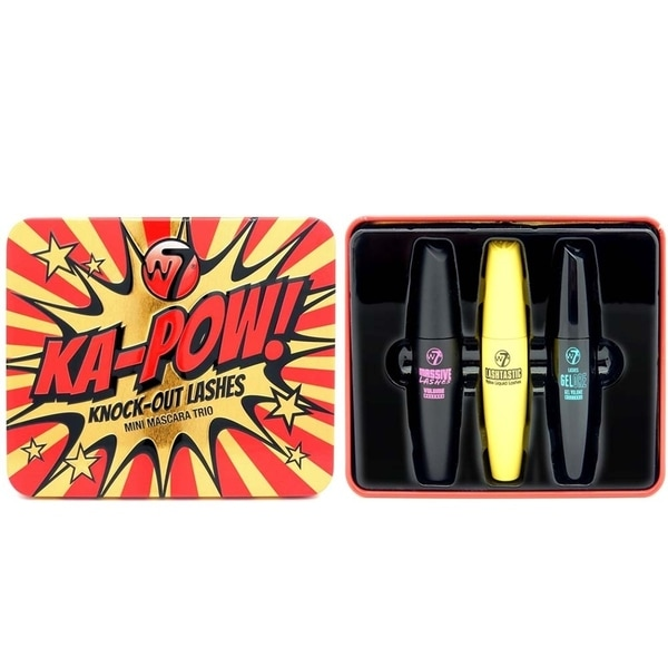 89cb2bf3cee Shop W7 Ka-Pow! Knock Out Lashes Mini Mascara Trio - Free Shipping ...