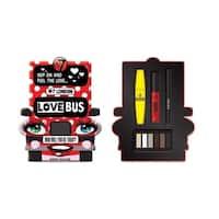 W7 London Love Bus 4-piece Makeup Collection