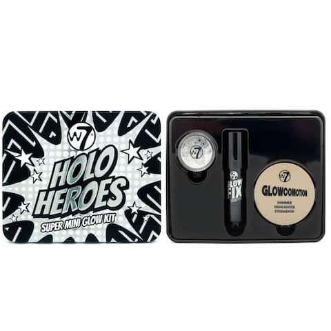 W7 Holo Heroes Super Mini Glow 3-piece Kit