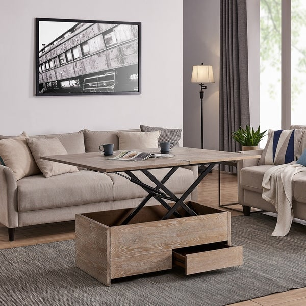 Shop Carbon Loft Meadmore Convertible Storage Coffee Table