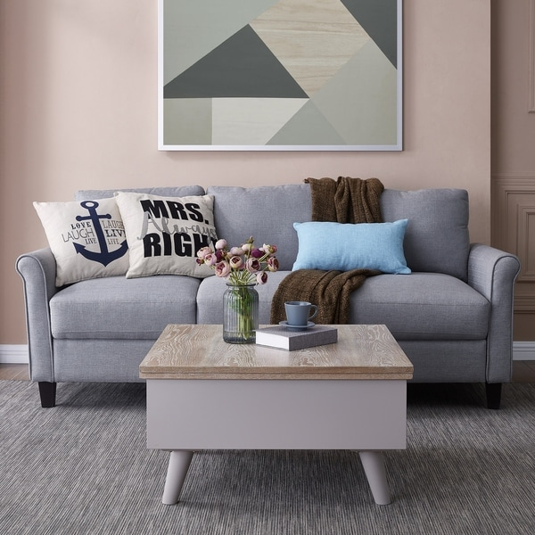 Harper Blvd Lift-Top Storage Coffee Table to Dining Table