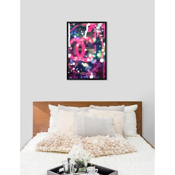 Oliver Gal 'Haute Rave' Fashion Framed Wall Art Print. Opens flyout.