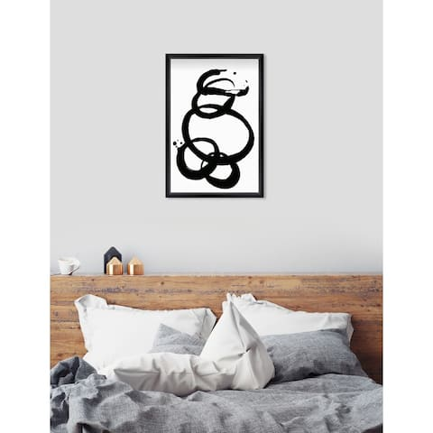 Oliver Gal 'Formas' Abstract Framed Wall Art Print