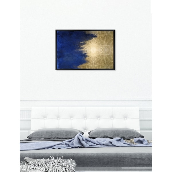 Oliver Gal 'Light symphony in Blue' Abstract Framed Wall Art Print. Opens flyout.