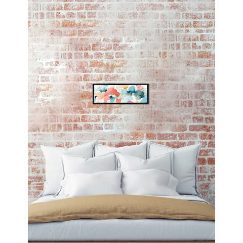 Oliver Gal 'Watercolor Clouds' Abstract Framed Wall Art Print