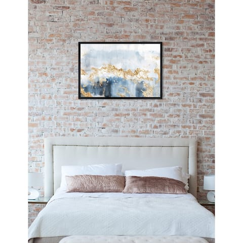 Oliver Gal 'Eight Days a Week' Abstract Framed Wall Art Print