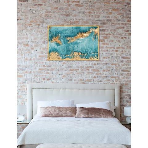 Oliver Gal 'Amada Mia' Abstract Framed Wall Art Print
