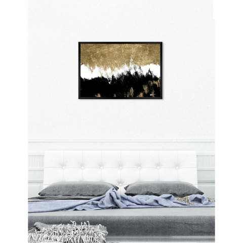 Oliver Gal 'Adore' Abstract Framed Wall Art Print
