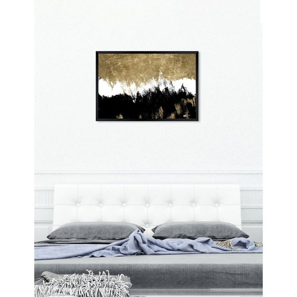 Oliver Gal 'Adore' Abstract Framed Wall Art Print. Opens flyout.