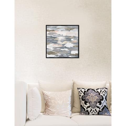 Oliver Gal 'Beautiful Retreat' Abstract Framed Wall Art Print