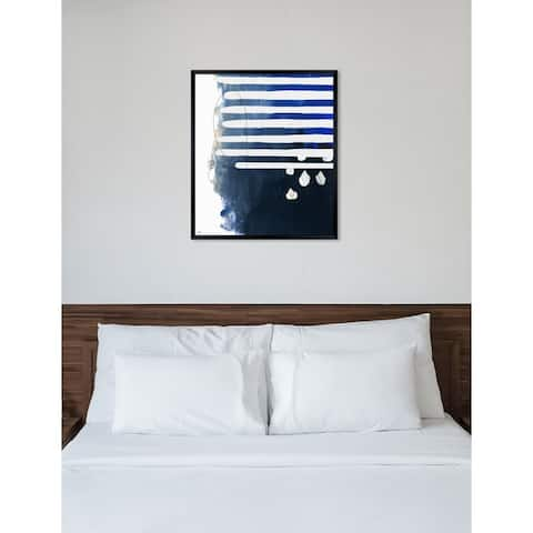 Oliver Gal 'Oceanico' Abstract Framed Wall Art Print