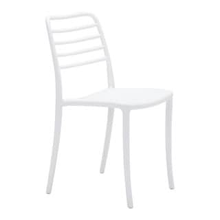 Havenside Home Sitka Dining Chair White (Set of 2)