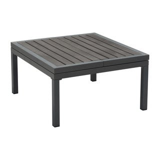 Havenside Home Wimin Aluminum Lift-top Foldable Modern Coffee Table - N/A