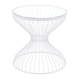 Porch & Den Hourglass-Shaped Side Table