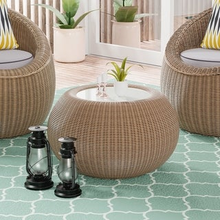 Link to Cobb Island Outdoor Accent Table by Havenside Home Similar Items in Outdoor Coffee & Side Tables