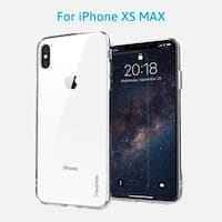 "iPhone XS Max Clear Case, INSTEN Ultra Slim [Drop Protection] Soft TPU Crystal Clear Cover for Apple iPhone XS Max 6.5"" (2018)"