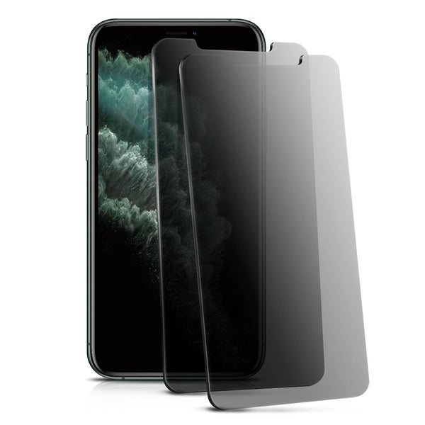 """INSTEN Anti-Spy Privacy Tempered Glass Screen Protector for Apple iPhone XS Max 6.8"""" (Pack of 2). Opens flyout."""