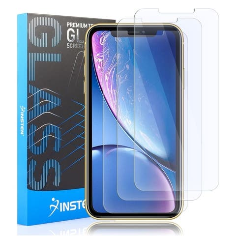 """INSTEN Tempered Glass Screen Protector for Apple iPhone XR 6.1""""/ iPhone 11 (Pack of 3)"""