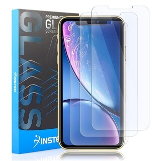 "INSTEN Tempered Glass Screen Protector for Apple iPhone XR 6.1"" (Pack of 3)"