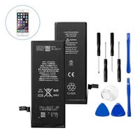 Insten Replacement Standard Battery with Repair Tool Kits for Apple iPhone 6 (Model: A1549, A1586, A1589)