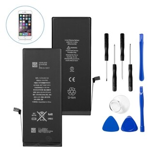 Insten Replacement Standard Battery with Repair Tool Kits for Apple iPhone 6s Plus (Model: A1634, A1687)