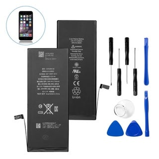 Insten Replacement Standard Battery with Repair Tool Kits for Apple iPhone 6 Plus (Model: A1522, A1524, A1593)