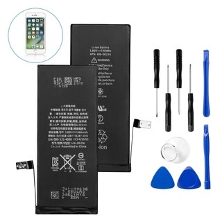 Insten Replacement Standard Battery with Repair Tool Kits for Apple iPhone 7 (Model: A1660, A1778, A1779)